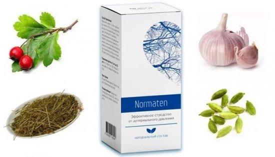 Основные компоненты Normaten