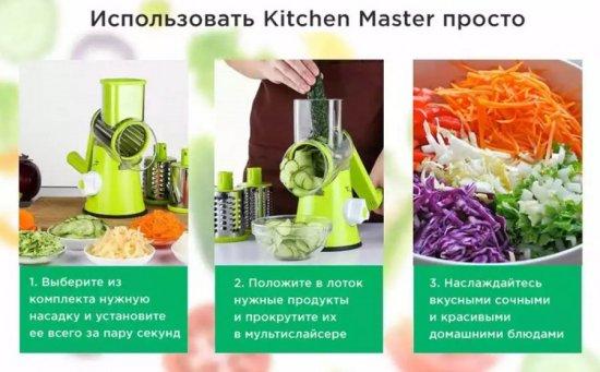 Мультислайсер Kitchen Master