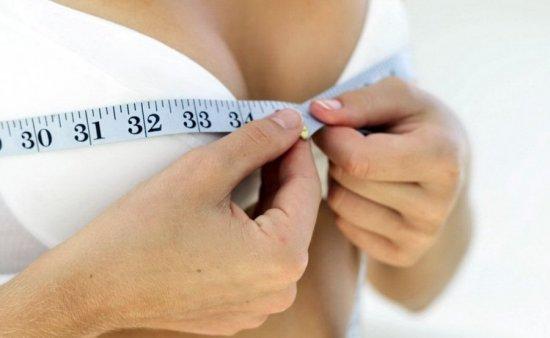 Измерение размера груди