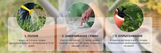 Методы применения Биогроу